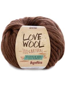 Katia Love Wool - kolor 126 brąz