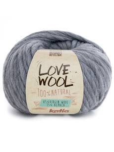 Katia Love Wool - kolor 106 szary