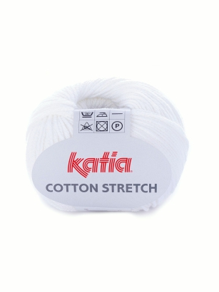 Katia Cotton Stretch kolor -1 biały